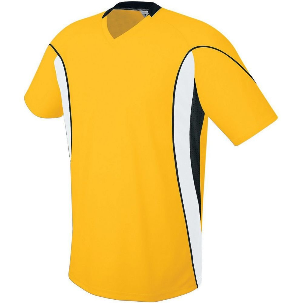 High Five Sportswear SHIRT メンズ B07CBRL311 XX-Large|Athletic Gold/White/Black Athletic Gold/White/Black XX-Large
