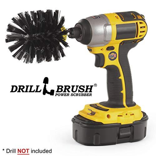 Drill Brush Ultrastiff Scrub Brush