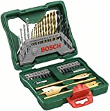 Bosch 40-Piece X-Line Titanium Set (Silver and Gold)
