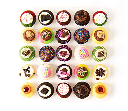 (Baked by Melissa Cupcakes The Latest & Greatest - Assorted Bite-Size Cupcakes, 25 Count)