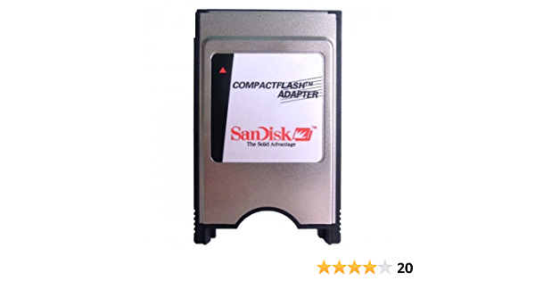 Pc Card PCMCIA Reader Adapter Compact Flash Memory Card C.F 1GB