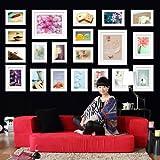 Wall Hanging Art Home Decor Modern Gallery 20-piece - Best Reviews Guide