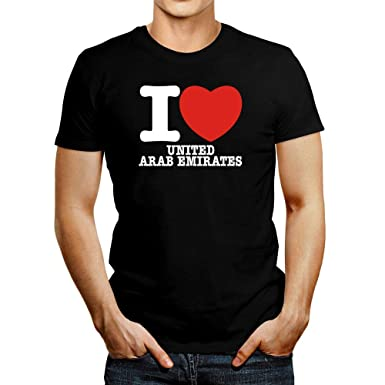 I Love Heart United Arab Emirates T-Shirt
