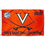 Virginia Cavaliers 2018 ACC Basketball Champions Flag