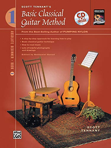Scott Tennant's Basic Classical Guitar Method, Book 1 (Book & CD)
