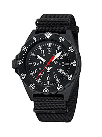 KHS Shooter KHS.SH.NB Natoband schwarz inkl. Watch-Glass-Protection Schutzfolie
