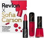 REVLON X Sofia Carson Makeup Kit - The Sofia Reds, 3 Count