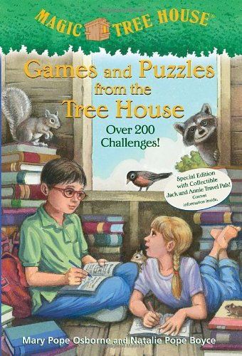 Games and Puzzles from the Ice House - Book  of the Magic Tree House