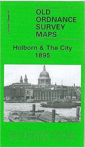 OLD ORDNANCE SURVEY DETAILED MAPS HOLBORN CITY STRAND LONDON  1873 Special Offer