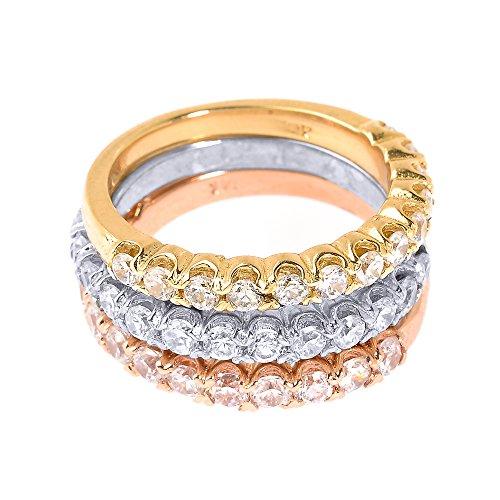 Tri Color Gold Diamond - 5