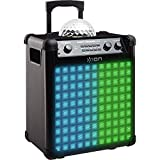 ION Audio Party Rocker Max | 100W Portable Bluetooth Party Speaker System & Karaoke Centre with Built-In Rechargeable Battery, Dome Party...