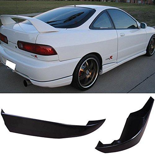 Rear Bumper Lip Fits 1994-1997 ACURA INTEGRA 2DRS | Usdm Style PU Black Rear Lip Spoiler Splitter by IKON MOTORSPORTS| 1995 1996