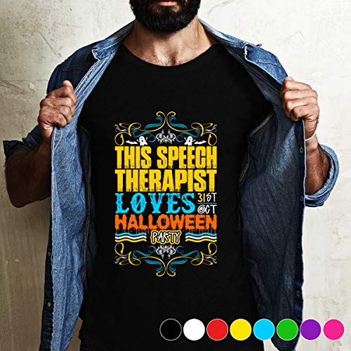 Therapist This Speech Therapist Loves 31st Oct Halloween Par i so that i am a now T Shirt Long Sleeve Sweatshirt Hoodie For Best Time]()