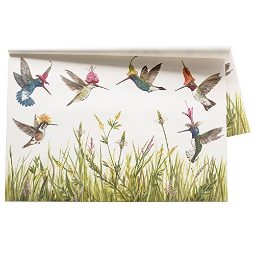 Hummingbird Paper Placemat Set/30 American Made