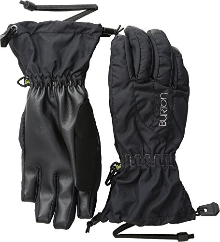 Burton Women's Insulated, Warm and Waterproof Winter Profile Glove with Touchscreen, True Black, X-Large