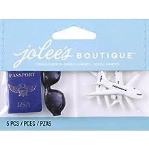 Jolees Jolee's Boutique Scrapbooking Embellishment, Passport Sunglasses and Planes