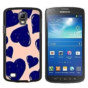 Caucho caso de Shell duro de la cubierta de accesorios de protección BY RAYDREAMMM - Samsung Galaxy S4 Active i9295 - arte viñeta margarita naturaleza verde de la primavera
