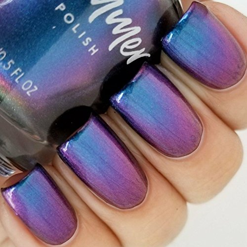 Shade Shifter Multichrome Nail Polish- 0.5 oz Full Sized Bottle
