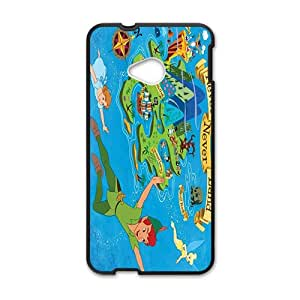 Malcolm Peter pan Case Cover For HTC M7