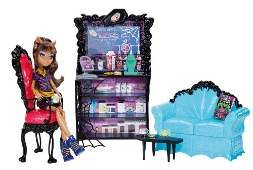 Monster High Coffin Bean and Clawdeen Wolf Doll Playset (Doll Bean)