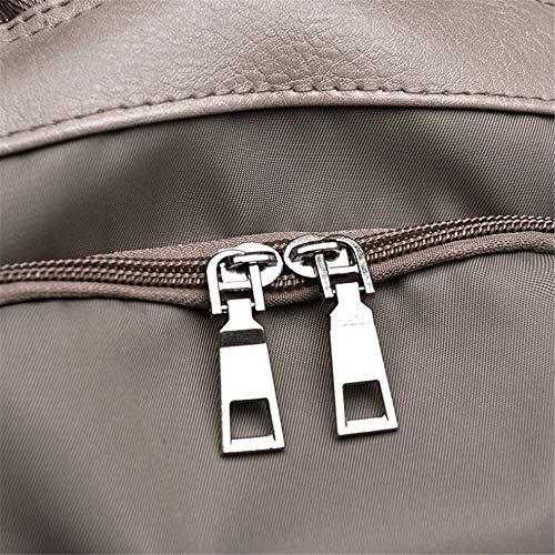 Turistici Ladro Borsa resistant Wear Tempo Cachi black Per Oxford Zaino Libero A Panno Tracolla Una Jtsyh E Il xPwqCY85