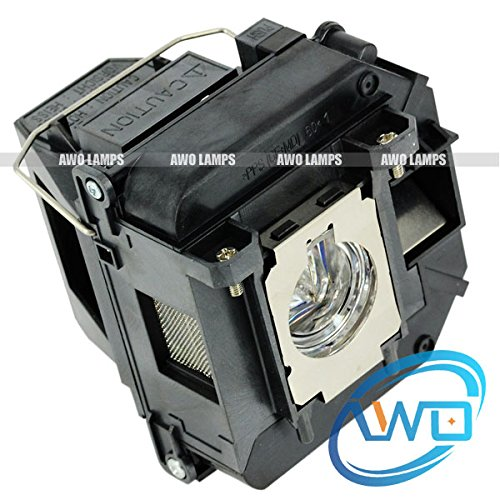 Awo-lamps ELPLP61 / V13H010L61 Replacement Bulb/lamp with Housing for EPSON PowerLite 1835 430 435W 915W D6150;EPSON EB-430 EB-430LW EB-435W EB-915W EB-915WLW EB-925 EB-925LW Projectors 150 Day Warranty