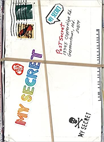 amazon com my secret a postsecret book 8601300043876 frank