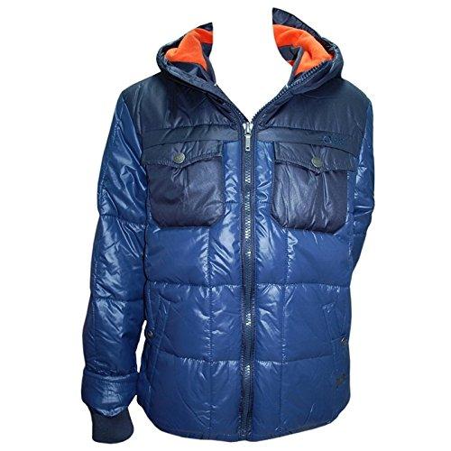 Tumble'n Dry - Winterjacke Anorak Jungen Fleecefutter wasserabweisend, blau