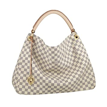 27b07dc9fd8d Image Unavailable. Image not available for. Color  Authentic Louis Vuitton  N41174 Artsy Damier Azur MM Women s Handbag