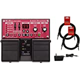 BOSS RC-30 Guitar Pedal Loop Station w/ Power Supply and (2) 10' Guitar Cables