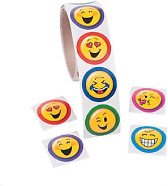 Emoji Stickers (Roll of 100)