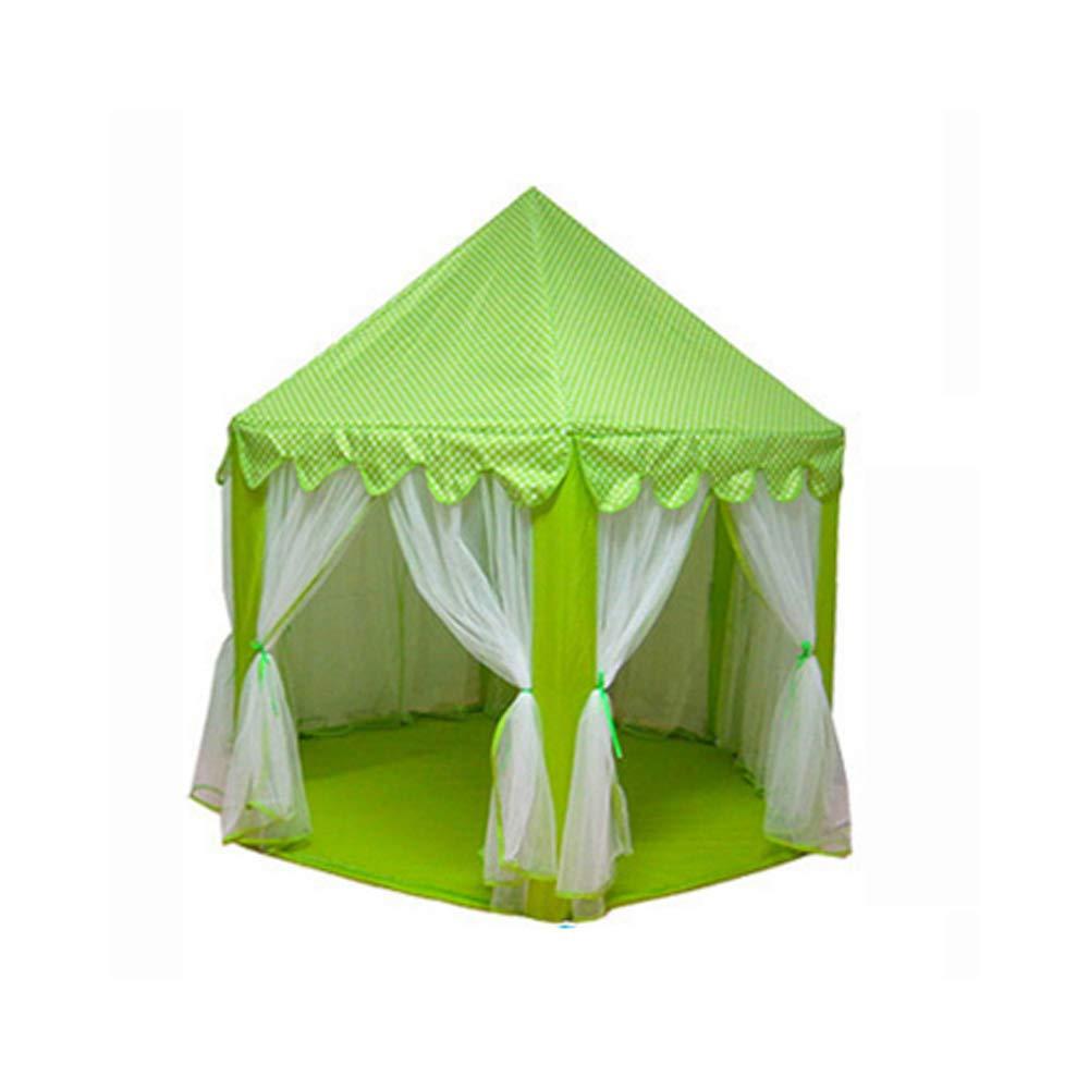 primera vez respuesta verde verde verde YMJJ Kids Play Tent, Playhouse para Interiores y Exteriores Hexagon Fairy Princess Castle Play Tent para niños, niñas, bebés, niños pequeños,azul  Venta en línea precio bajo descuento