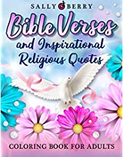 Bible Verses Coloring Book for Adults: Easy and Simple Large Print Christian Coloring Book for Seniors, Women, Girls. Inspirational Religious Quotes, Scripture Coloring Pages, Trust in God and Jesus Words, A Perfect Gift for Adults and Teens