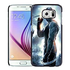 Fashionable Custom Designed Samsung Galaxy S6 Phone Case With The Chronicles Of Riddick Vin Diesel_Black Phone Case