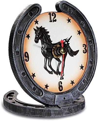 Clock Iron Horseback AVENUELAFAYETTE