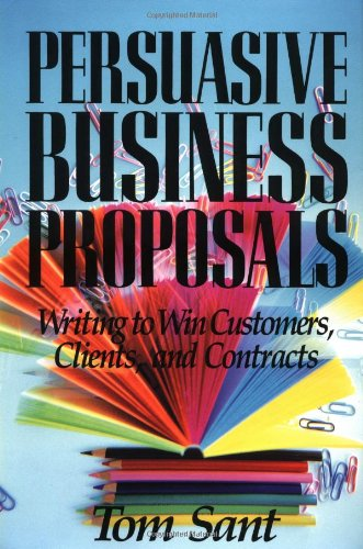 Provides a step-by-step process to help you write and deliver successful client proposals, discusses how to create letter, formal, research, and grant proposals