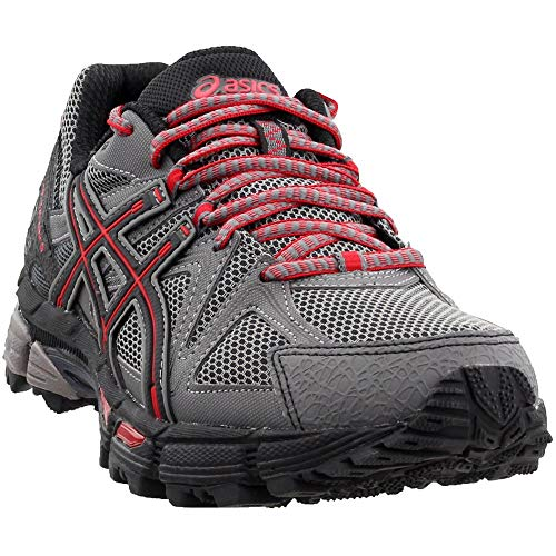 ASICS Men's Gel-Kahana 8 Trail Runner Shark/Black/True Red 7 M US by ASICS (Image #7)