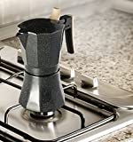 Osaka Stovetop Espresso Maker - Aluminum with