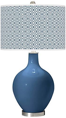 Regatta Blue Diamonds OVO Table Lamp - Color + Plus ()