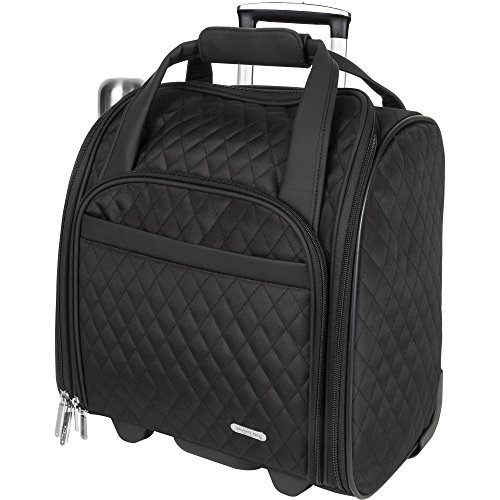 Travelon Wheeled Underseat Carry-On Comes with Back Up Ba...