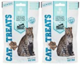 Big Cat Rescue Freeze Dried Ahi Tuna Treats for Cats (2-1.1oz packages)