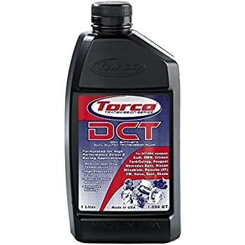 Torco DCT Transmission Series Approved 100% Synthetic Dual Clutch Transmission Fluid, 1 L