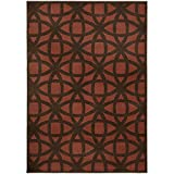 Oriental Weavers 2963B Zanzibar Collection Area Rug, 3'10 x 5'5""""