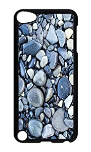 iPod 5 Case,VUTTOO Cover With Photo: Rocks For iPod Touch 5 - PC Black Hard Case