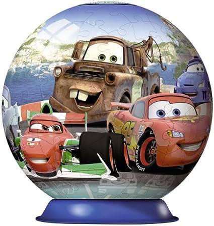 Ravensburger 12219 Disney Cars 2 Puzzleball - Puzzle con Forma de Bola (108 Piezas): Amazon.es: Juguetes y juegos