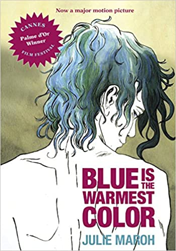Image result for Maroh Blue is the Warmest Color, cover