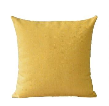 La almohada Almohada de algodón y lino del salón sofá abrazo ...
