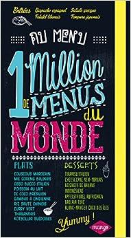 1 million de menus du monde