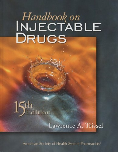 Handbook On Injectable Drugs  15Th Edition