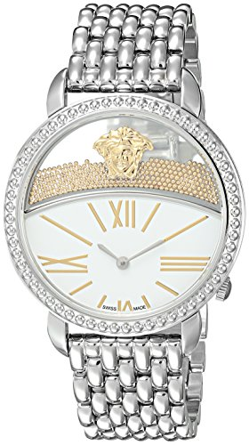 Versace-Womens-KRIOS-Swiss-Quartz-Stainless-Steel-Casual-Watch-ColorSilver-Toned-Model-VAS090016